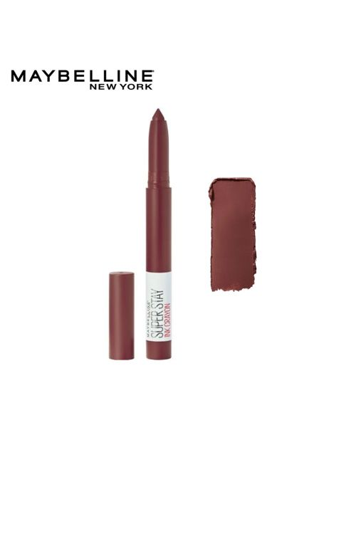 Maybelline New York SuperStay Ink Lip Crayon Lipstick - 05 Live On The Edge