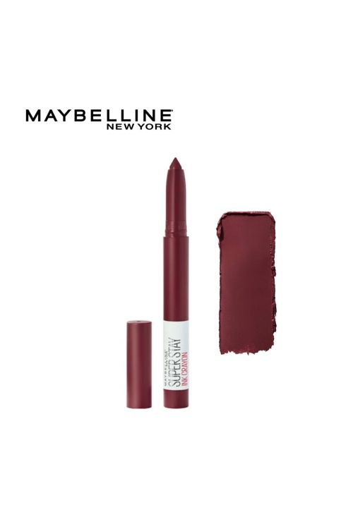 Maybelline New York SuperStay Ink Lip Crayon Lipstick - 65 Settle For More