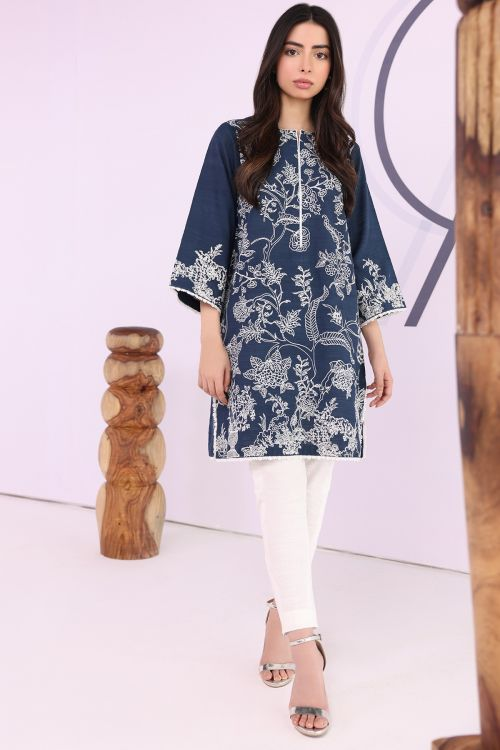 2 Pc Khaddar Embroidered Suit