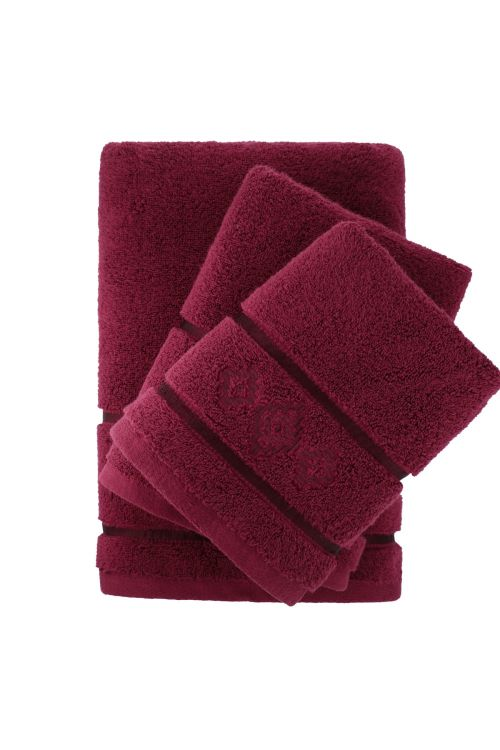 3 Pc Embroidered Towel Set